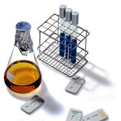 Determinación de silicio (en agua con kit).