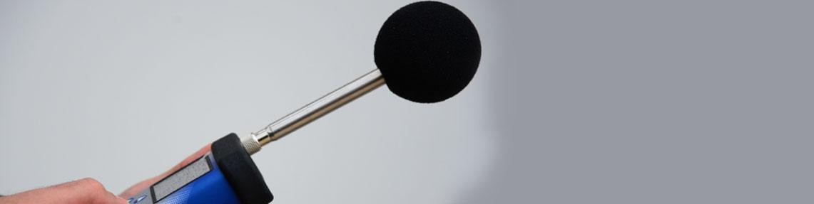 Umgebungsgeräusche und akustische Messungen