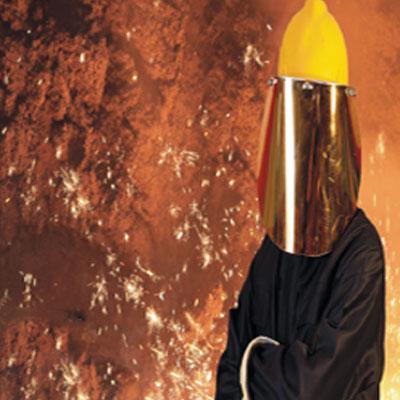 Προστατευτική ενδυμασία - Προστασία θερμότητας και φλόγας - Μέθοδος δοκιμής για ταξινομημένη εκτόξευση φλόγας